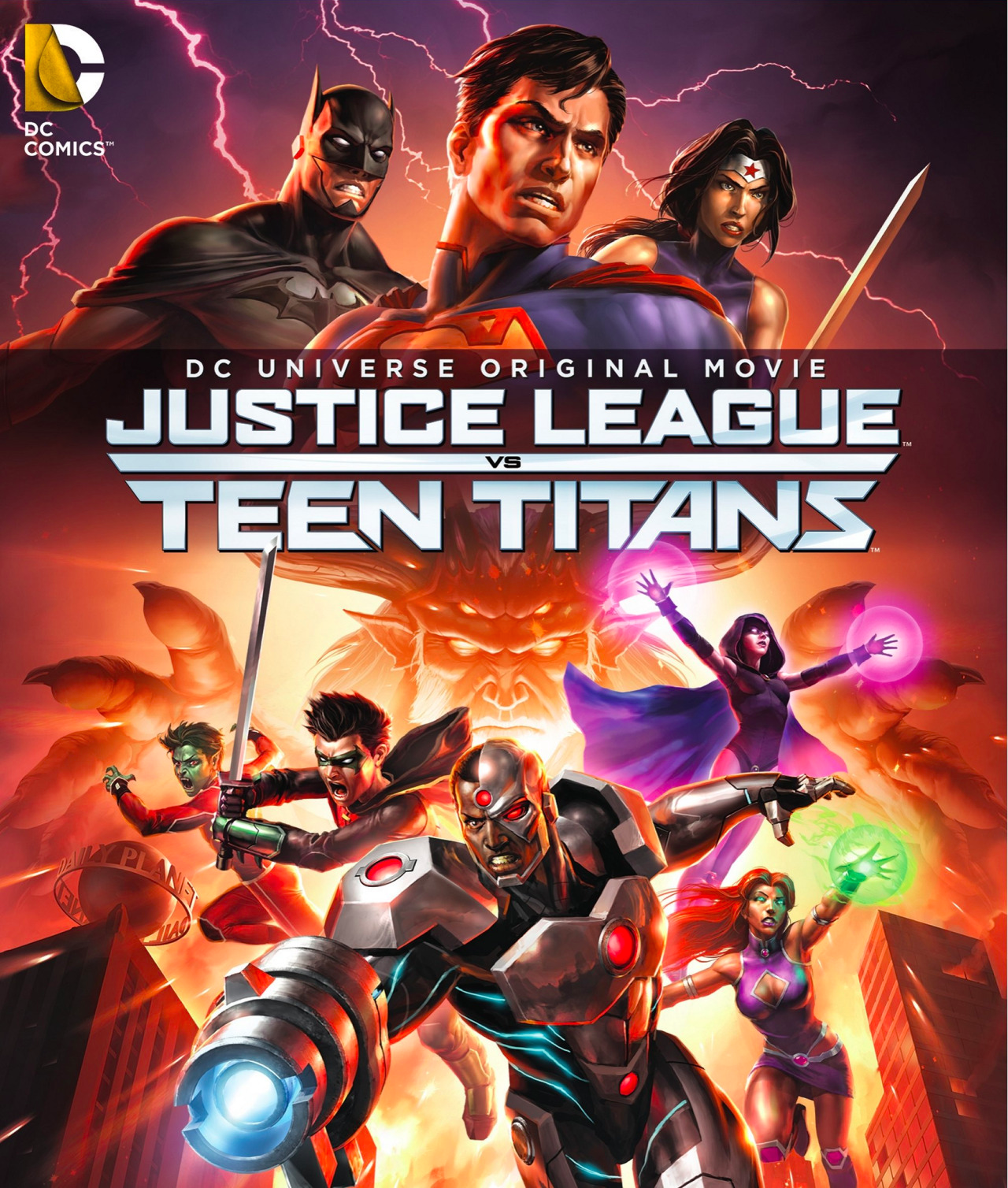 Justice League Vs Teen Titans Another Mediocre Dc -6963